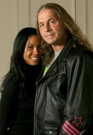 NoDQ.com > Features > Photo: Bret Hart and his 3rd wife