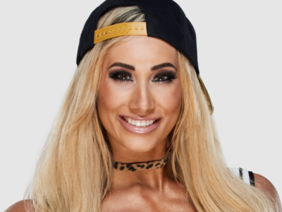 "Photos of Carmella showing off how ""fabulous"" she is"