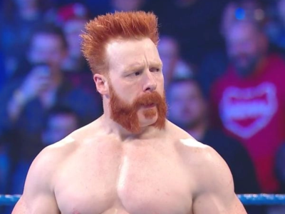 Video: Security guard Sheamus takes a pedigree from Triple H in 2006
