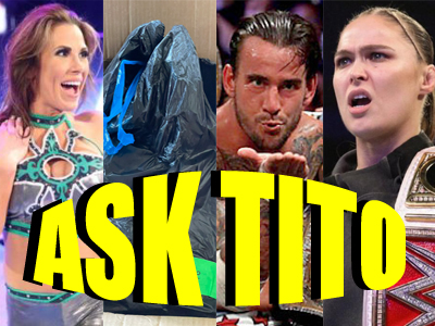 ASK TITO:  Mickie James and WWE Garbage Bags, CM Punk, Ronda Rousey's Pregnancy, and More