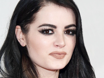 Paige shows off a look different from what fans are used to seeing