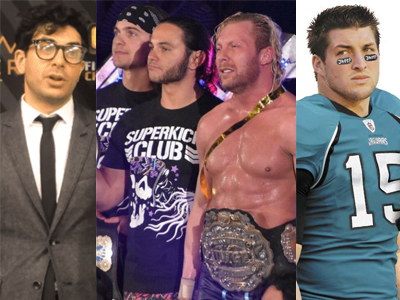 MR. TITO:  Tony Khan's Jacksonville Jaguars Signing Tim Tebow is Like AEW EVPs Signing Talent