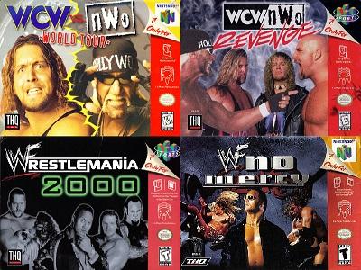 MR. TITO:  The Top 5 Greatest Nintendo 64 Pro Wrestling Video Games