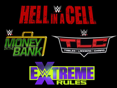 MR. TITO:  WWE Hell in a Cell, Extreme Rules, Money in the Bank, and TLC are AWFUL Pay Per View Events