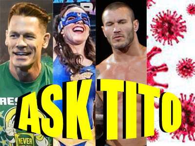 ASK TITO:  CM Punk, Daniel Bryan, John Cena, WWE Money in the Bank Winners, and Much More